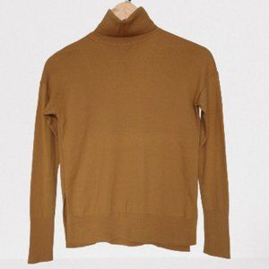 Aritzia Babaton 100% Wool Turtleneck with Split Hem - Size XS